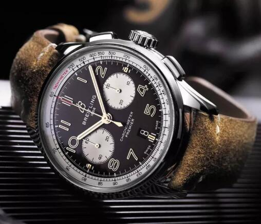 Many elements of the Norton have been engraved on the timepiece.