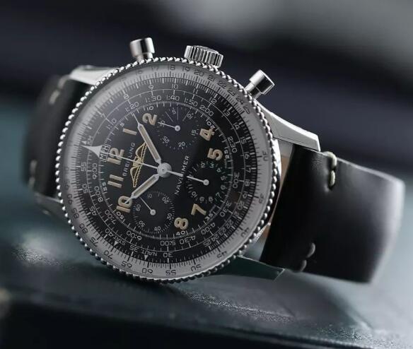 The special Breitling looks special and quite different from modern Navitimer.
