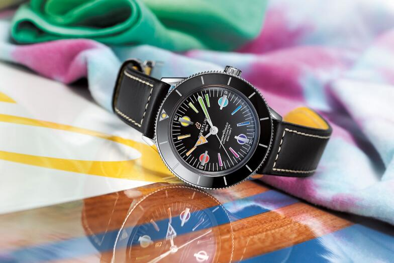 Swiss replication watches have colorful design.
