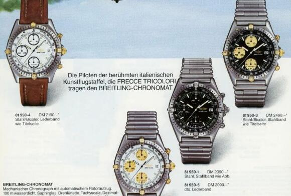 The special Breitling Chronomat was created to fight against the quartz crisis.