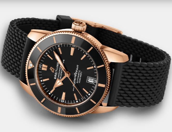 1:1 replication watches are fantastic with 18k red gold and black color.