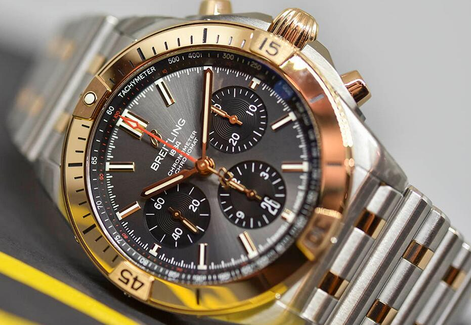 AAA replica watches are prominent for the chronograph function.